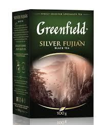Купить <b>Чай черный</b> листовой <b>Silver</b> Fujian, 100 г, <b>Greenfield</b> в ...
