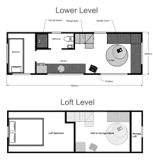 Tiny House Plans Suitable For A Family of  tiny house floor plan