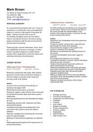 english teacher cv head teacher cv teacher resume templates