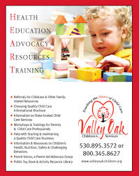 valley oak children s services momseveryday valley oak provides a toy book resource lending library a variety of educational toys equipment and books for parents child care providers and of