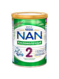 <b>Смесь сухая</b> молочная <b>Кисломолочный</b> 2, с 6 месяцев, 400г <b>NAN</b> ...