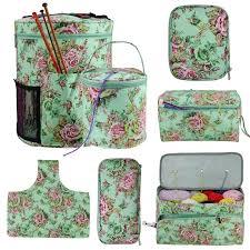 <b>Looen Empty</b> Yarn Storage Bag DIY Weave <b>Crochet Hook</b> Bag 7 ...