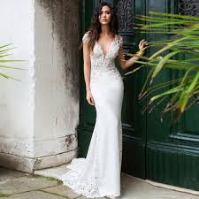 Jiayigong Mermaid Wedding Dress Long Vestidos de novia Vintage ...