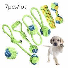 <b>7pcs</b>/set <b>Pet Dog</b> Toys Set Interesting <b>Dog</b> Toys Training Chew ...