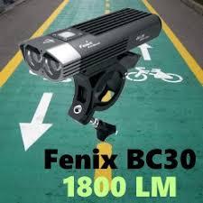 <b>Fenix BC30</b> - <b>велофара</b> Феникс, которая затмит другие