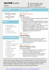 Resume format for freshers mca doc