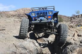 Jeep Rock Crawler Jeep Yj Stubby Rock Crawler Front Bumper