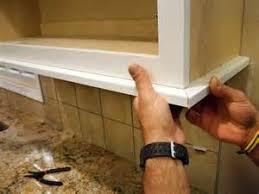 kitchen cabinets cabinet lighting how to install a kitchen cabinet light rail how tos diy cabinet lighting flip