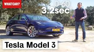 <b>Tesla Model</b> 3 Review 2021 | What Car?