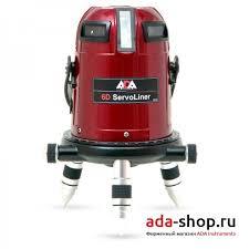 <b>Нивелир</b> лазерный <b>ADA 6D</b> SERVOLINER А00139 - Лазерные ...