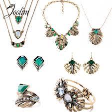 <b>JOOLIM Jewelry</b> Wholesale/2016 Vintage Leaf <b>Jewelry</b> Set ...