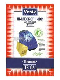 Купить Мешки пылесборные <b>Vesta</b> Filter <b>TS</b> 06 по низкой цене в ...