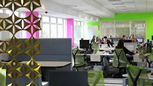 office large size large open plan office and funky breakout space installed without disruption to apex funky office idea