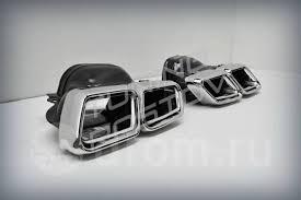 Насадки глушителя под обвес <b>Double</b> Eight AMG - GT и тюнинг во ...