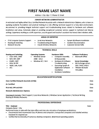 junior network administrator resume cover letter network administrator