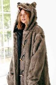 Wolf Coat - Urban Outfitters | gifts for teens & tweens | Coat, Urban ...