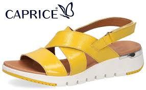 <b>Caprice</b> включил в коллекцию лето'20 <b>сандалии</b> спортивного стиля