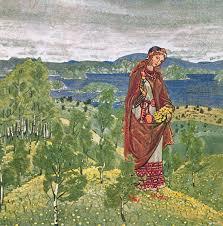 Н.К. Рерих. Ункрада. 1909 (эскиз)