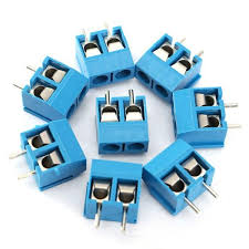 20pcs <b>2</b> Pin Plug-In Screw Terminal Block Connector <b>5.08mm</b> Pitch ...