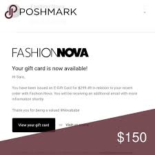 Fashion Nova E Gift Card
