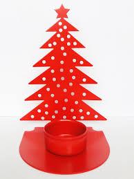 <b>Подсвечник</b> для чайной <b>свечи</b> Елочка <b>красный</b> Gala 9825894 в ...