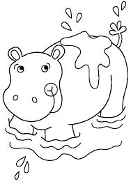 Small Picture Special Hippo Coloring Pages Free Downloads Fo 2928 Unknown