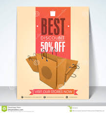 discount flyer or brochure designs special offer banners poster banner or flyer of discount offer stock photos