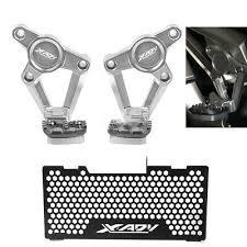 logo CNC For Honda <b>X-ADV 750 Footrests Foot Pegs</b> Rear Pedals ...
