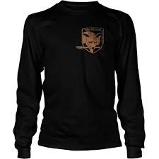 Metal Gear Solid <b>Foxhound Special Force</b> Group Long Sleeve T-Shirt