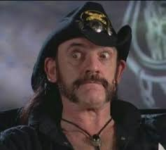 Lemmy Kilmister moustache Let's Not Get Carried Away