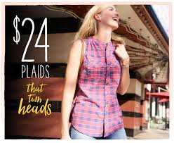 women s fashion clothing for sizes maurices 24 plaids that turn heads shop plaids