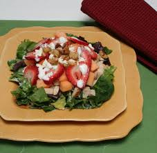 Almond & Strawberry Salad