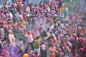 photos revelers let loose during holi festival in pbs people celebrate holi festival at radha krishan temple on 6 2015 in shimla