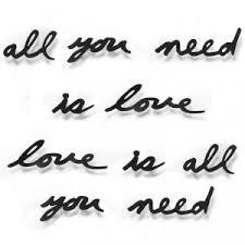 Купить «<b>Надпись декоративная Love is</b> all you need» (UMBRA) по ...