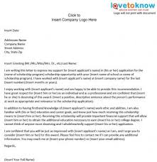 sample scholarship recommendation letter college letter recommendation