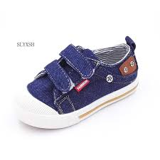 <b>SLYXSH Kids</b> Shoes for Girls Boys Sneakers Jeans Canvas ...