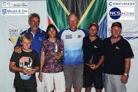 final race results day dart catamaran sailing south africa top 3 crews at the dart 18 worlds
