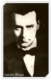 """Lucian Blaga / Personalitati Sibiene Debutul său literar s-a produs în ziarul sibian """"Tribuna"""" cu poezia """"Pe ţărm""""(1910), pentru ca, tot la Sibiu, ... - lucian_blaga_th"""
