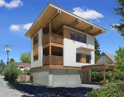 design flat roof style modern houses
