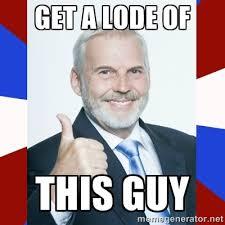 Get a lode of this guy - Idiot Anti-Communist Guy   Meme Generator via Relatably.com