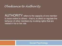 Image result for obedience to authority