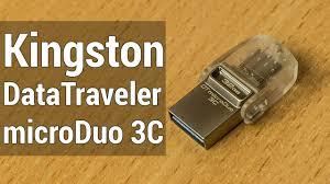 Kingston <b>DataTraveler microDuo 3C</b> обзор. Флешка которую ты ...