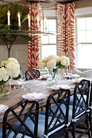 Chippendale Dining Room Table Image Of Black Bamboo Dining Chairs Roop Dining Rooms White Faux