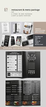 20 restaurant menu templates creative designs food menu bundle