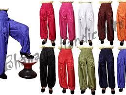 Multicolor <b>Indian Women's</b> Yoga Plain Trousers Hippie <b>Yoga Pants</b> ...