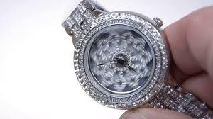 Женские наручные <b>часы</b> с вращающимся циферблатом - YouTube