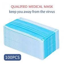 100pcs Disposable Anti Virus Mask Mouth Medical Face ... - Vova