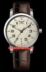 Швейцарские наручные <b>мужские часы AVIATOR V</b>.<b>1.11.0.042.4</b> ...