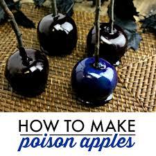 How to Make Poison Apples - Wanna <b>Bite</b>