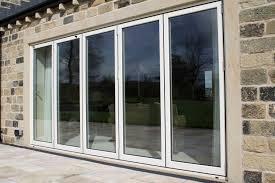 aluminium bi folding doors sliding patio york home decorations pinterest home decor home bi fold doors home office